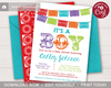 Picture of Fiesta Baby Shower Invitation