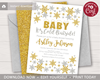Picture of Winter Baby Shower Invitation