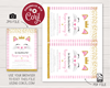 Picture of Kitty Cat Birthday Invitation
