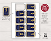 Picture of Mr. ONEderful Birthday Favor Tags | Navy and Gold