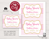 Picture of Pink and Gold Baby Shower Invitation
