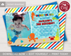Picture of Under the Sea Birthday Invitation with Photo