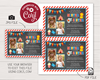 Picture of Circus Birthday Invitation for Siblings