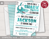 Picture of Shark Birthday Invitation