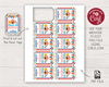 Picture of Circus Birthday Favor Tags