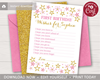 Picture of Twinkle Twinkle Little Star Birthday Wish Card