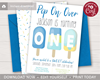 Picture of Popsicle 1st Birthday Invitation for Boys