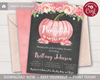 Picture of Pumpkin Baby Shower Invitation
