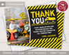 Picture of Construction Thank You Card