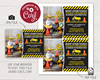Picture of Construction Birthday Invitation