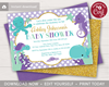 Picture of Under the Sea Baby Shower Invitation