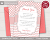 Picture of Baby Shower Thank You Card | Blush Pink