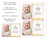 Picture of Unicorn Birthday Invitation