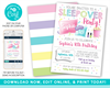 Picture of Sleepover Birthday Invitation