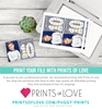 Editable Prince 10th Birthday Invitation with Photo at Puggy Prints