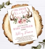 Picture of Deer Baby Shower Invitation