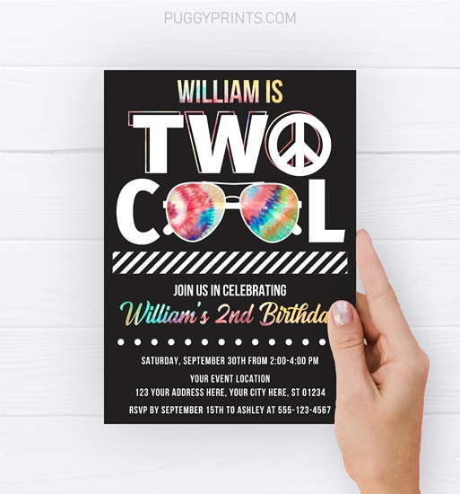 Picture of Two Cool Birthday Invitation