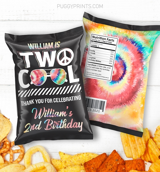 Picture of Two Cool Birthday Chip Bags