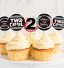 Picture of Two Cool Birthday Cupcake Toppers