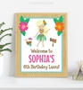 Picture of Luau Birthday Party Sign