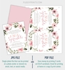 Picture of Floral Baby Sprinkle Invitation
